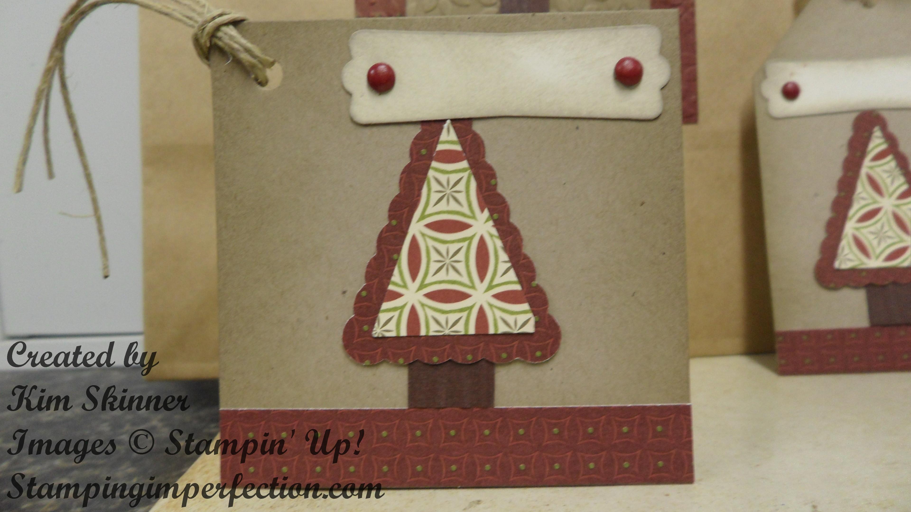 3x3 Card tag