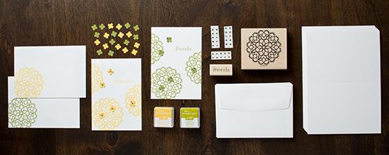 fancy friends card kit