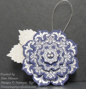 blueornament 290x300 WOW!  Christmas Ornament, Jar Topper or Bag Decoration...You Decide!