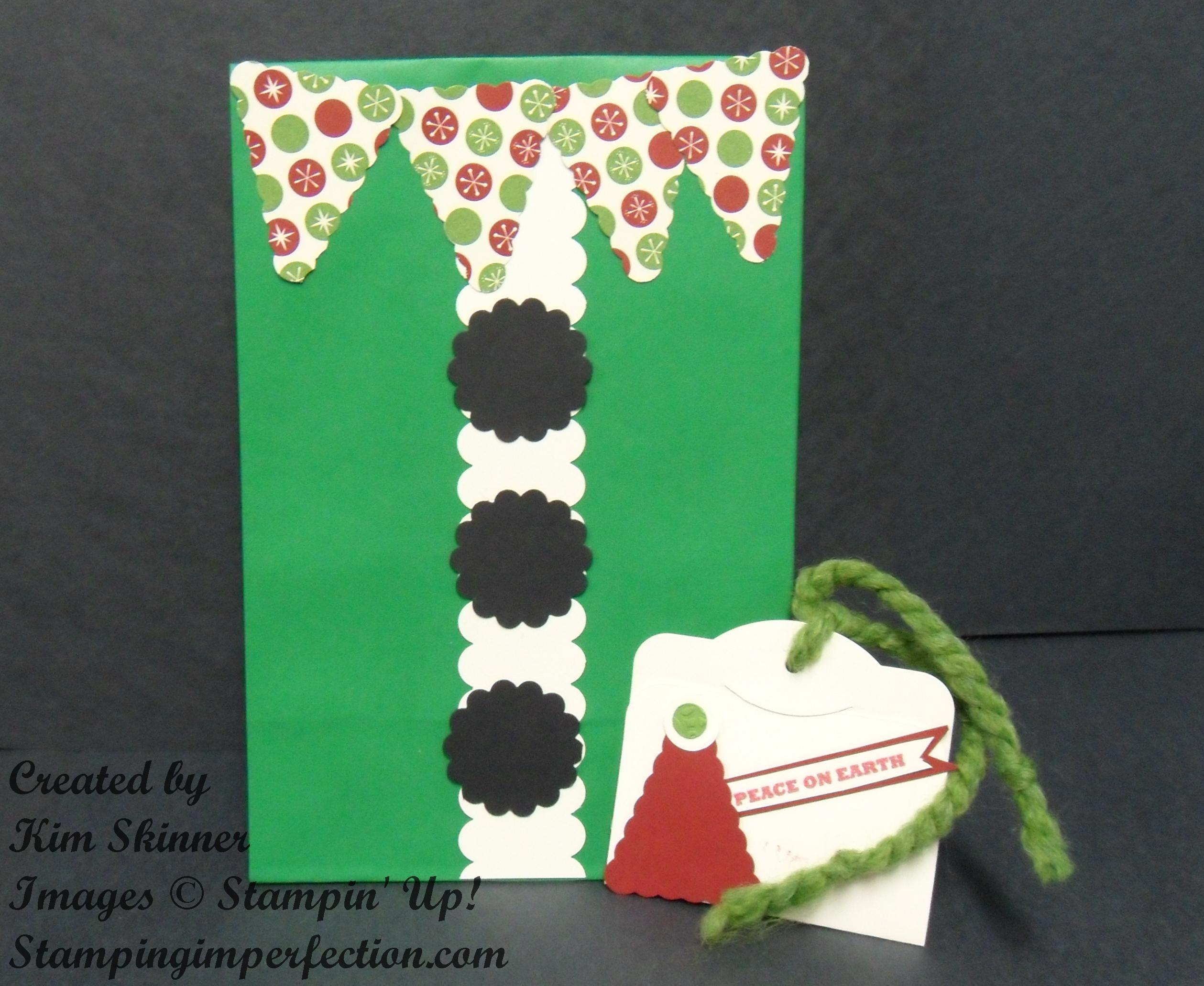Elf bag and tag!