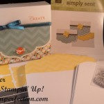 Easily Create a Stampin' Up! Simply Sent Gift Card Box!