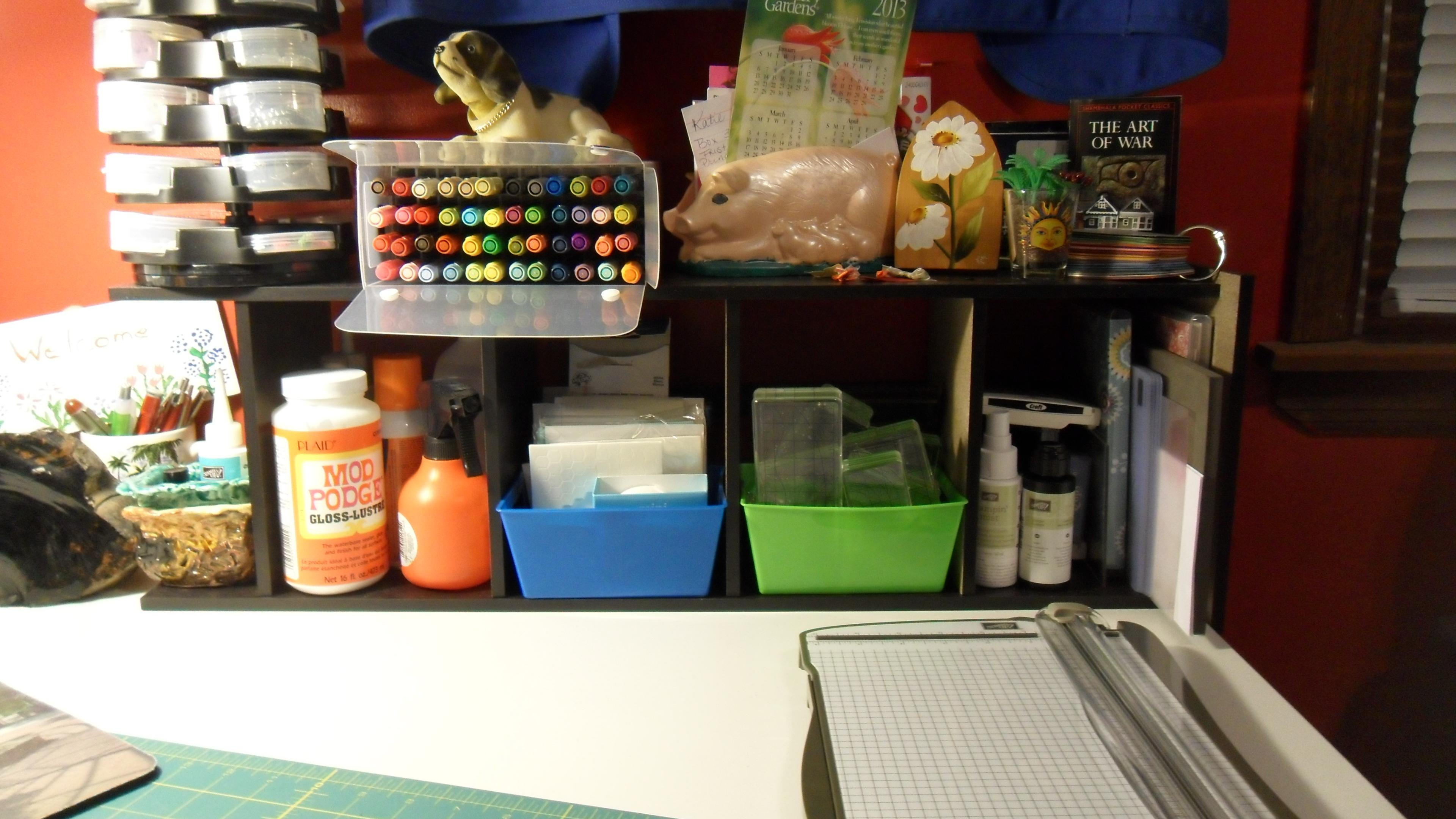 Organizing Your Craft Space!