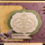 Stampin' Up! Meets a Card Sketch Challenge!