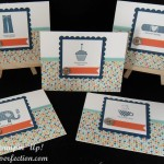 5 Great Cards and 1 Fun Punch Trick with Stampin' Up!s Patterned Occasions