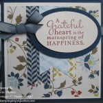 Pursuing Happiness At The Comfort Cafe With Stampin' Up!