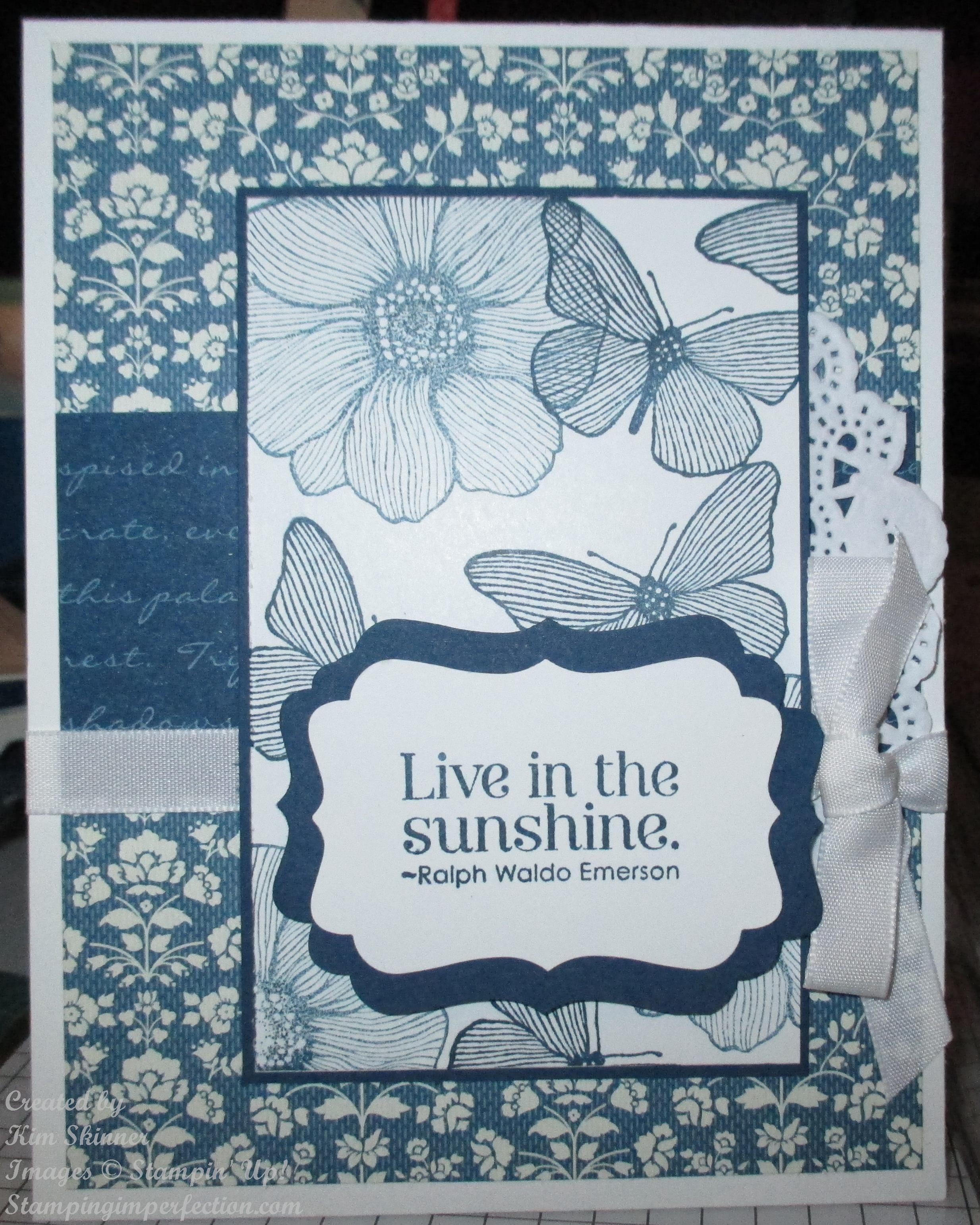 Pursuing Happiness With Summer Solstice From Stampin' Up!