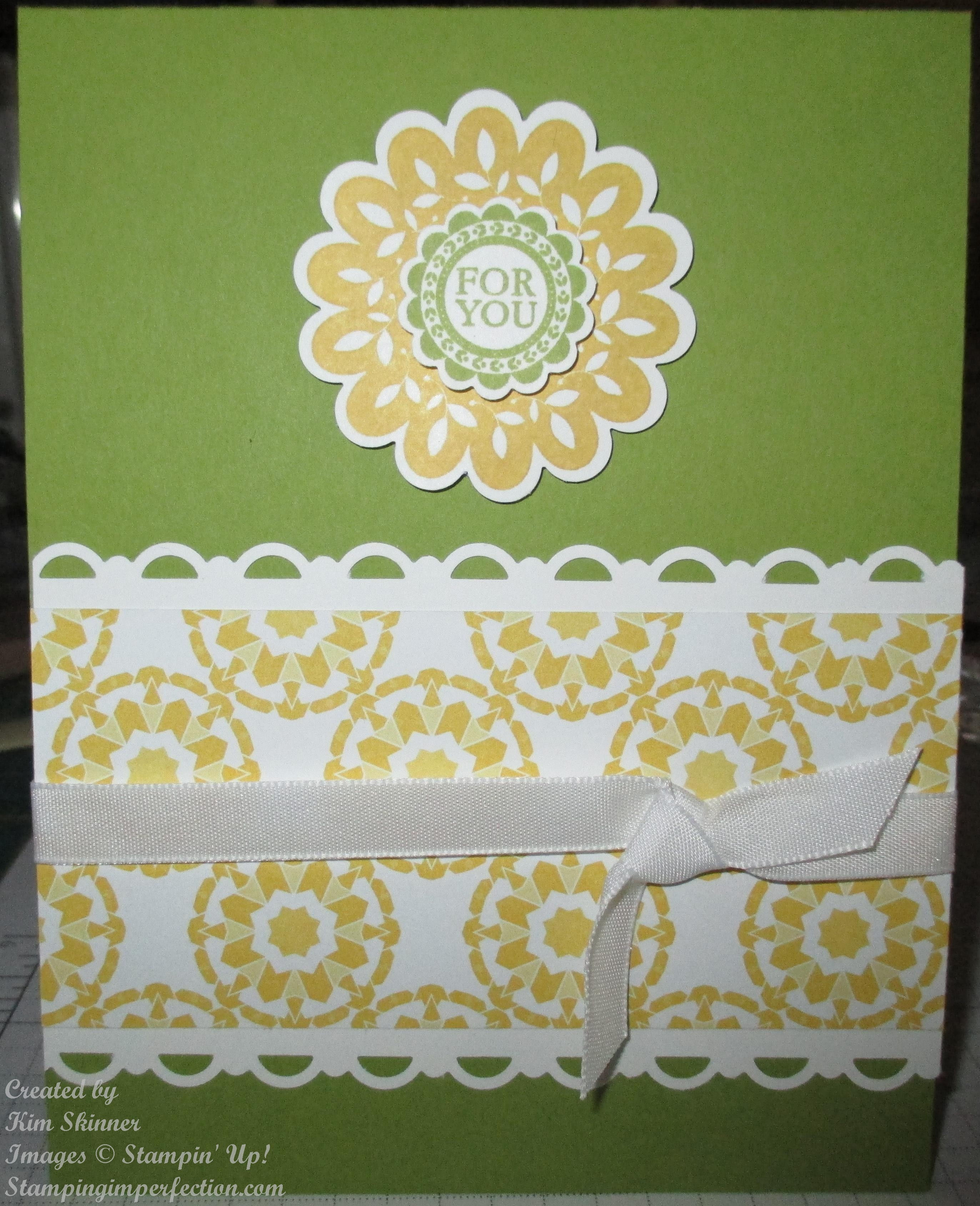 3 Great Punches from Stampin' Up!