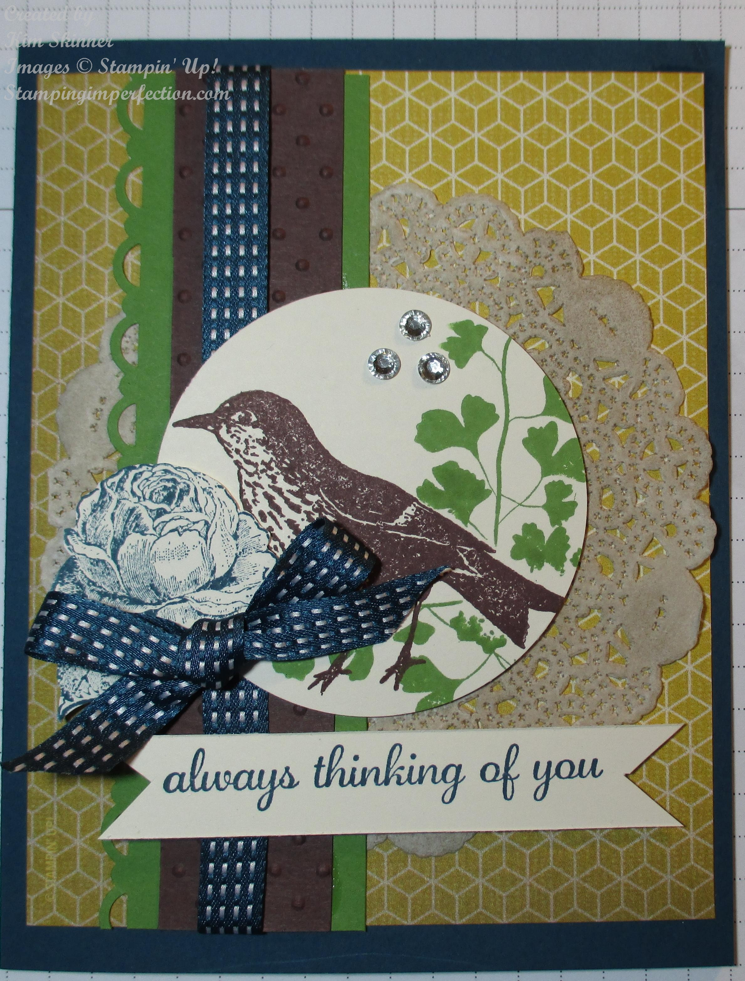 Challenge Day With Stampin' Up!