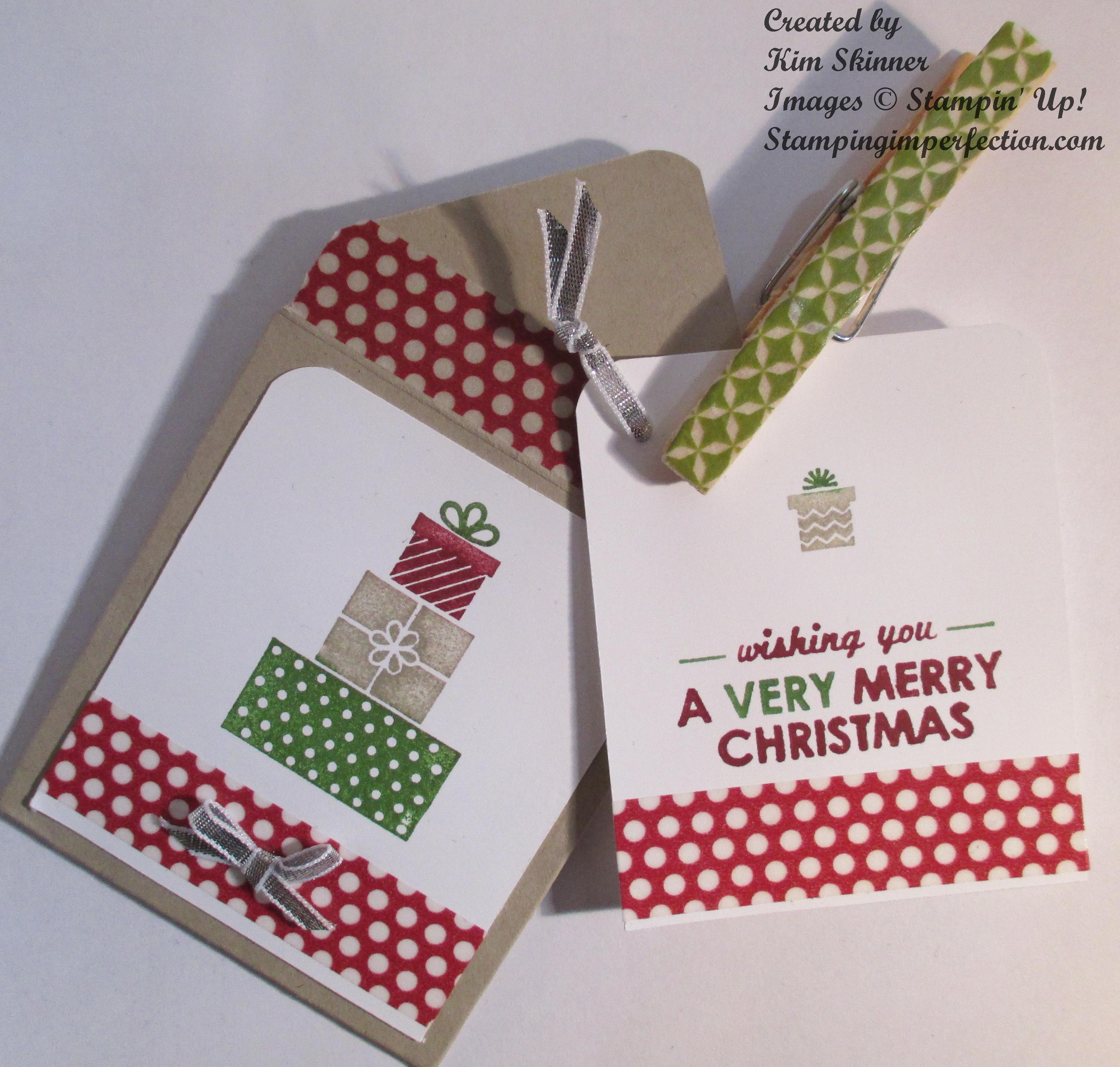 Create a quick envelope and gift tag