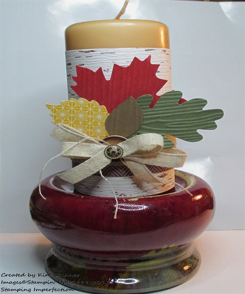 diy thanksgiving candle decorations