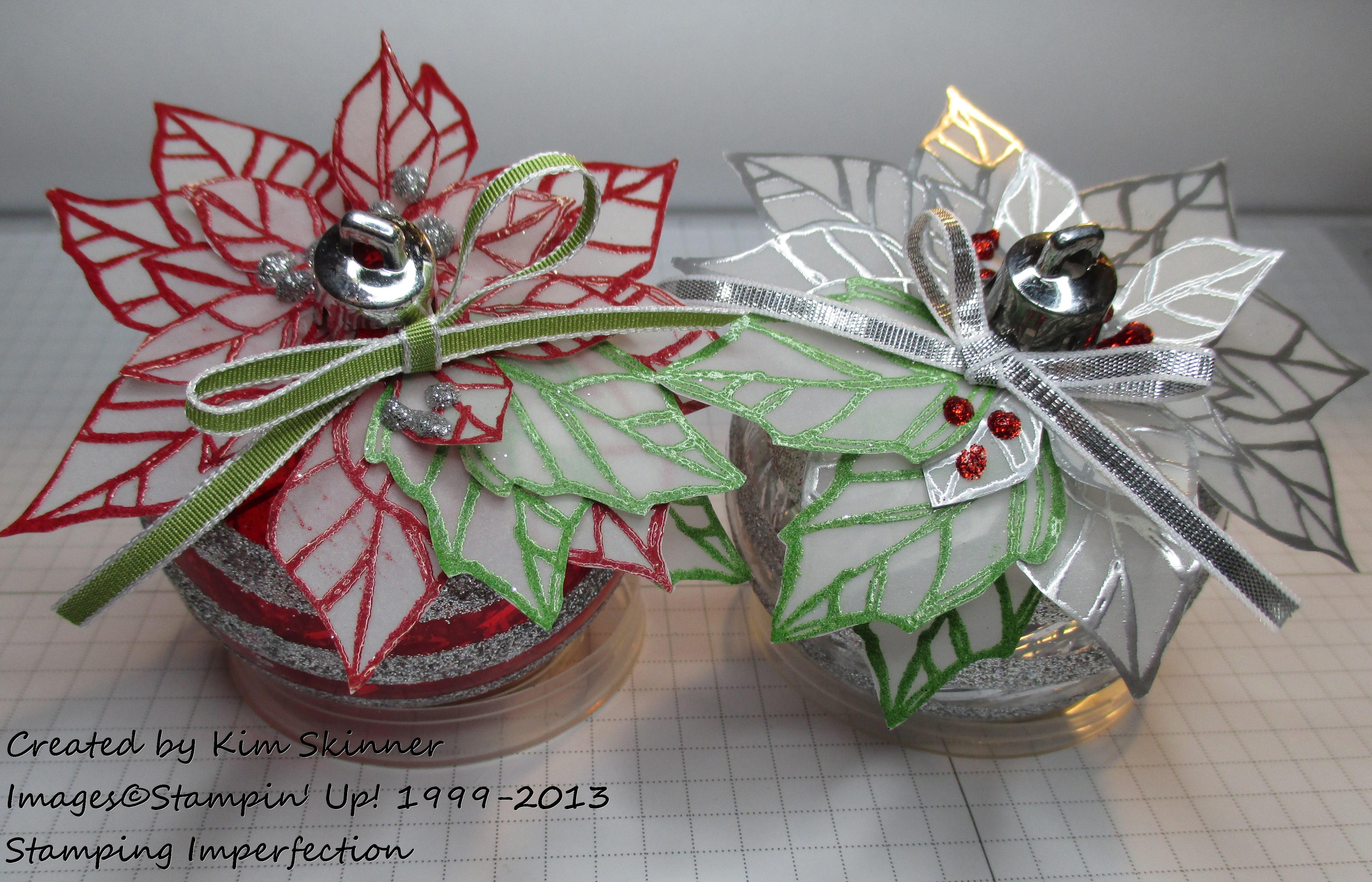Create a velum ornament topper