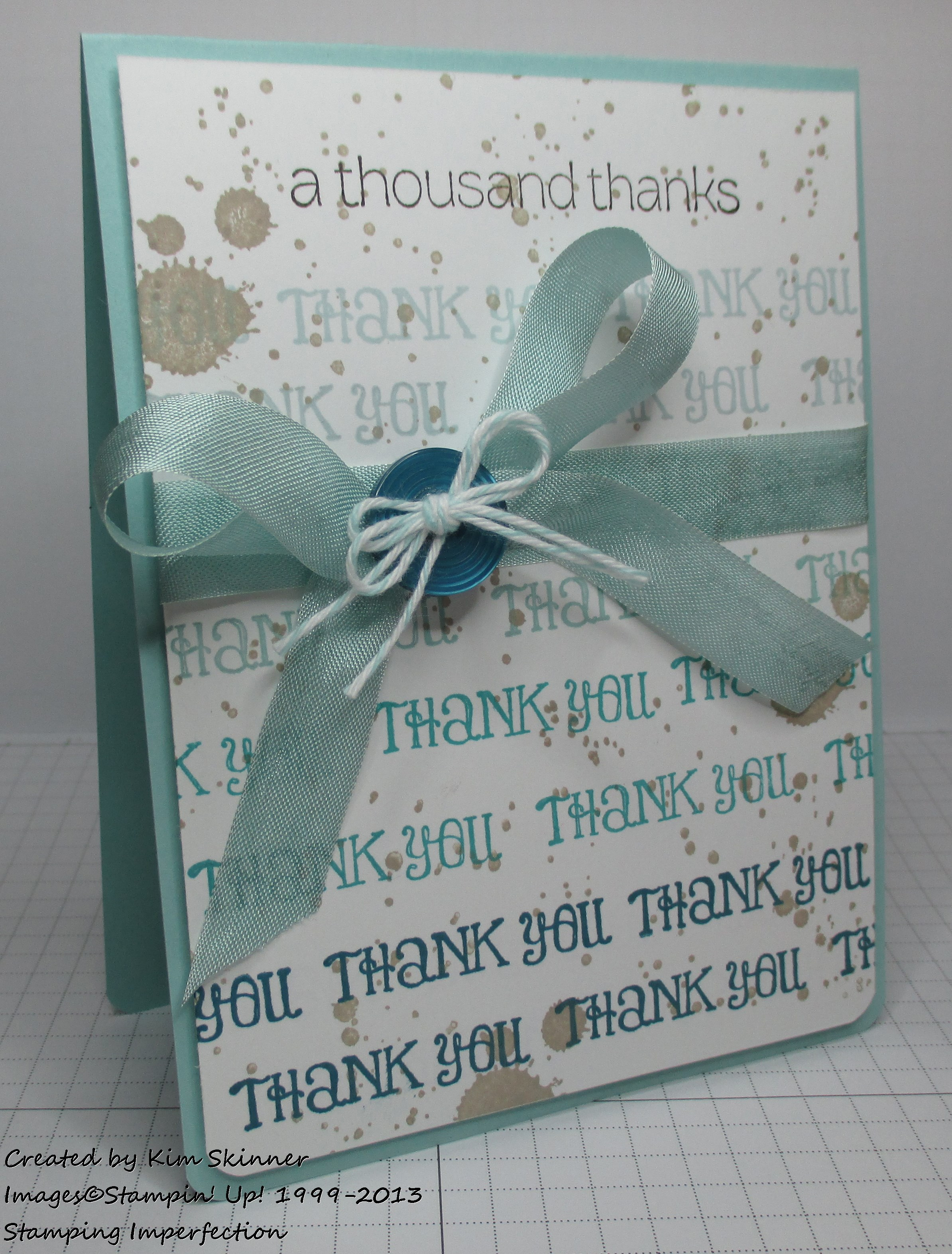 5 thank you cards