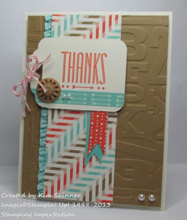 need a fresh and fabulous thank you card