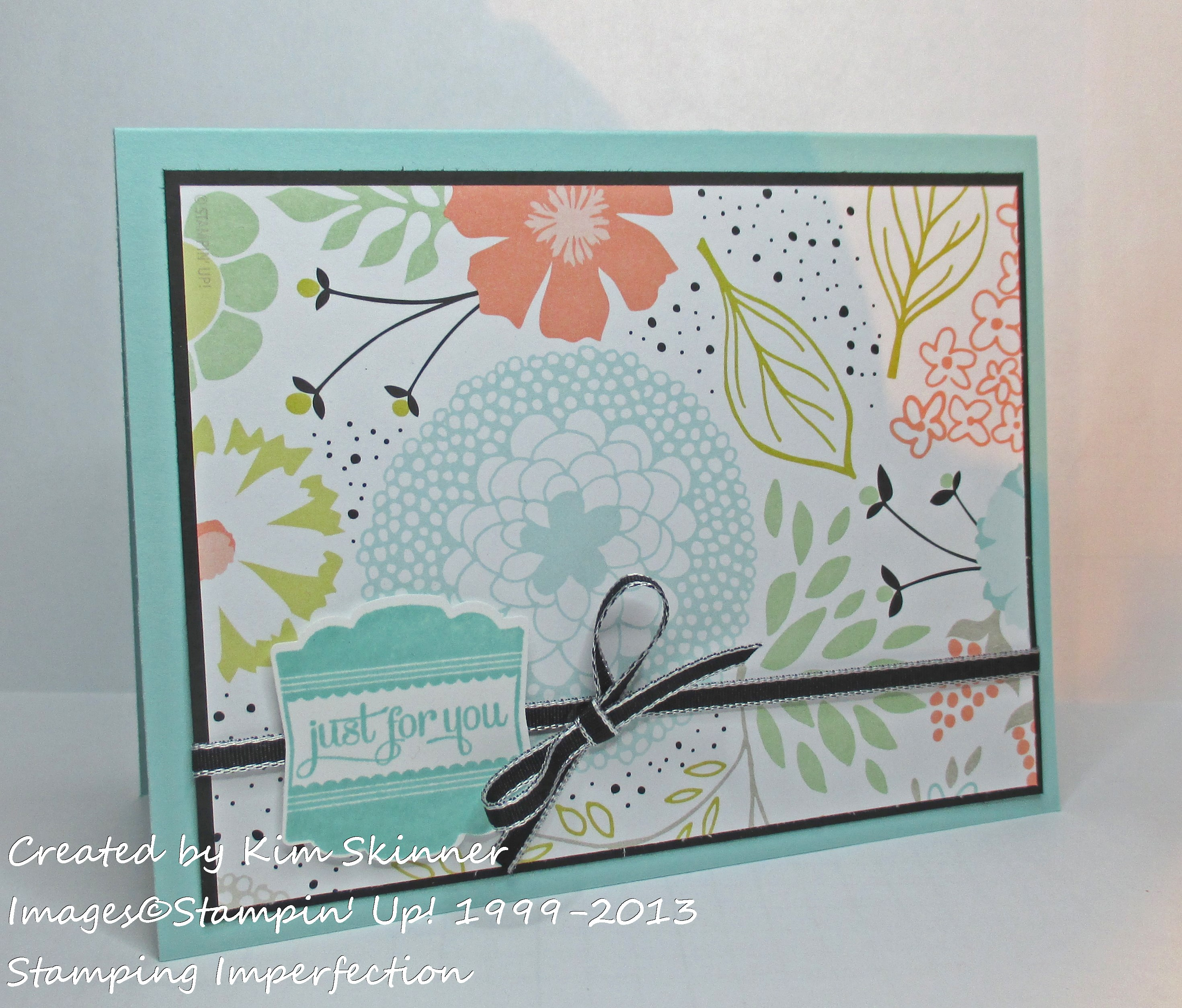 stamping imperfection 3 quick cards
