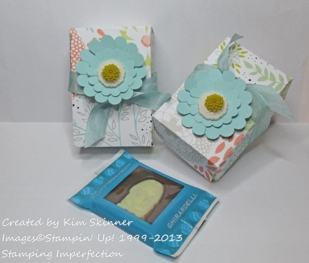Stamping Imperfection Treat Box with video