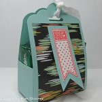 stamping imperfection treat basket