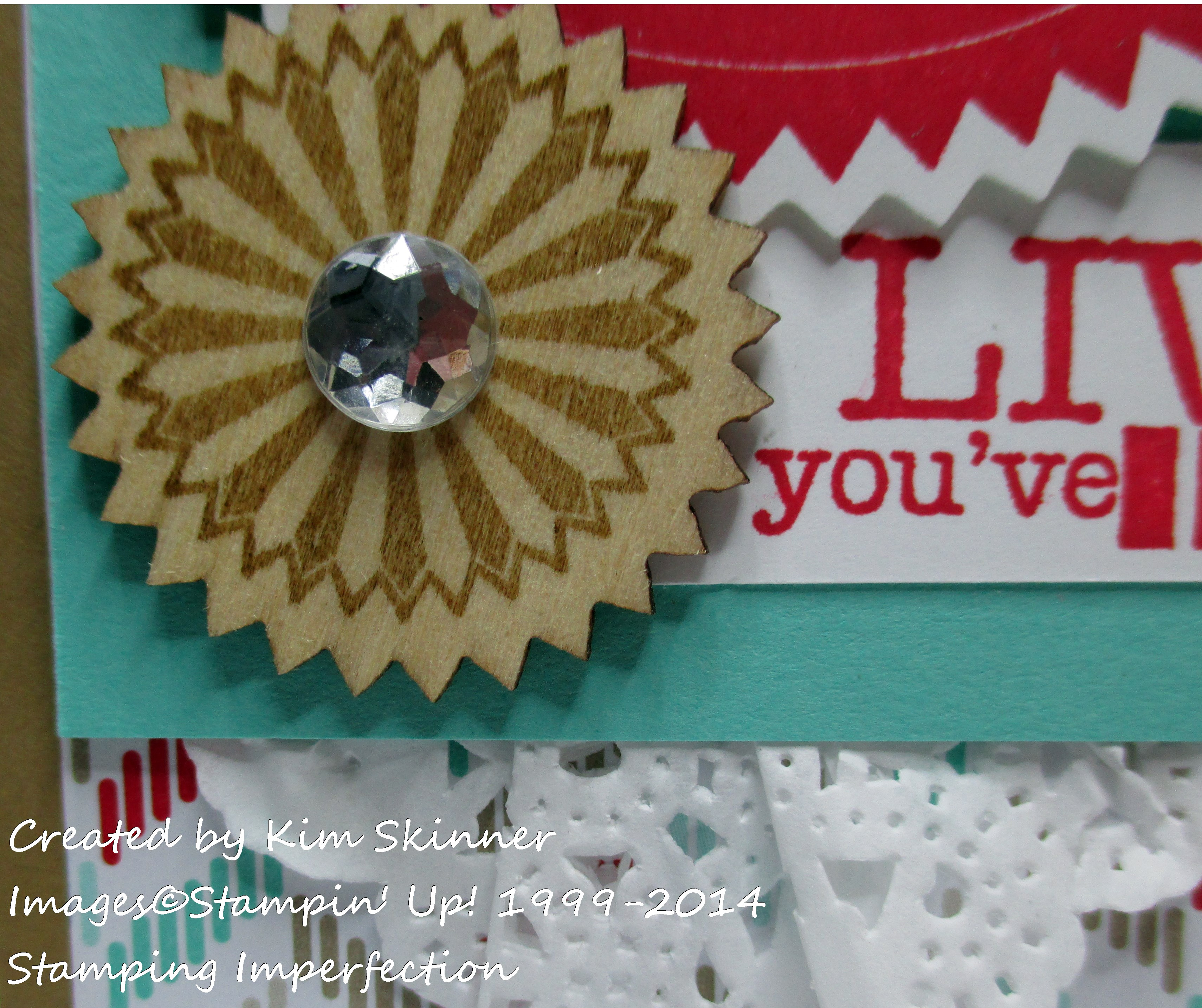stamping imperfection live the life
