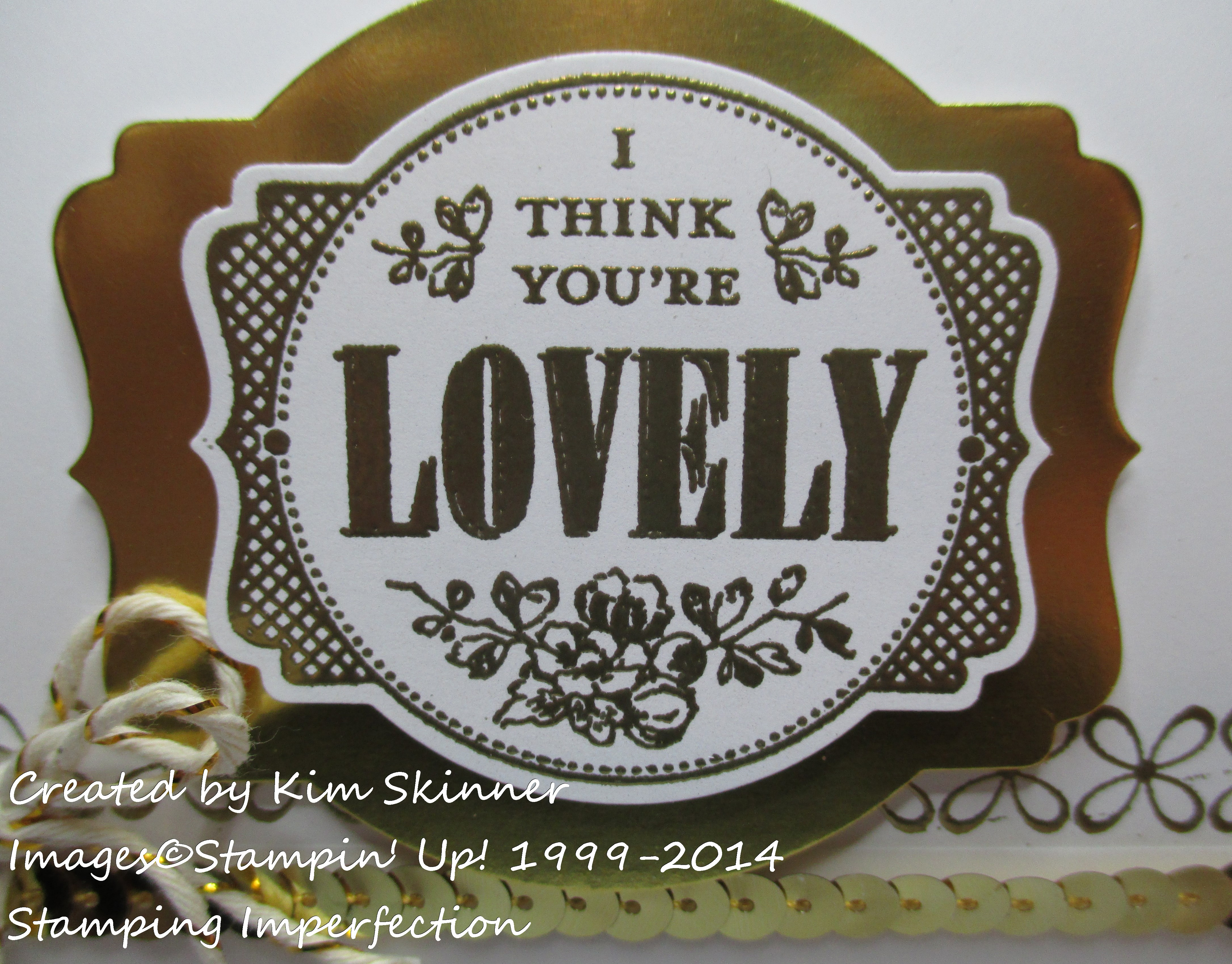 stamping imperfection 5 gold touches