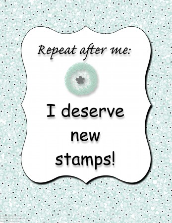 Stamping Imperfection Printable