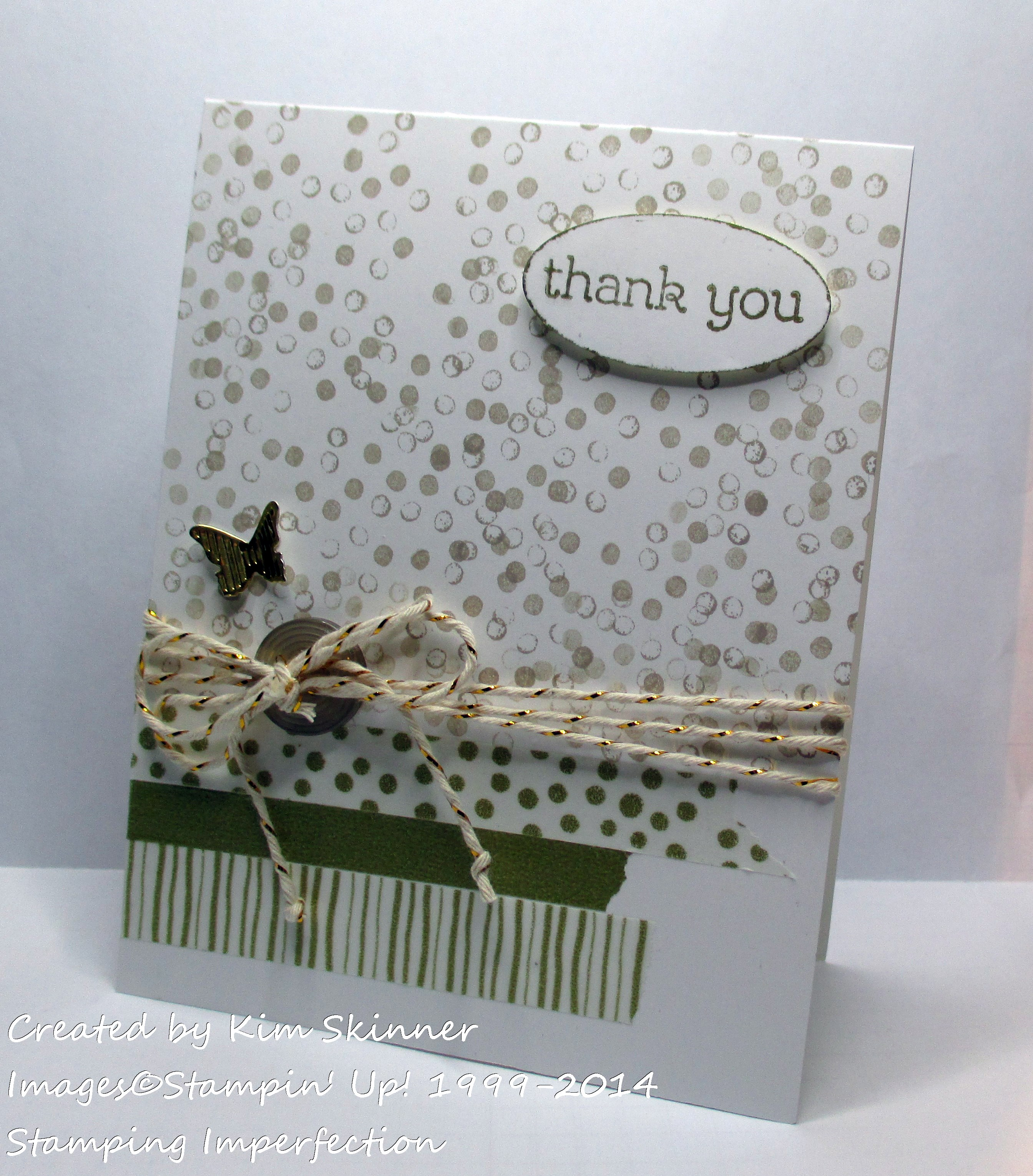 stamping imperfection gold and glitz
