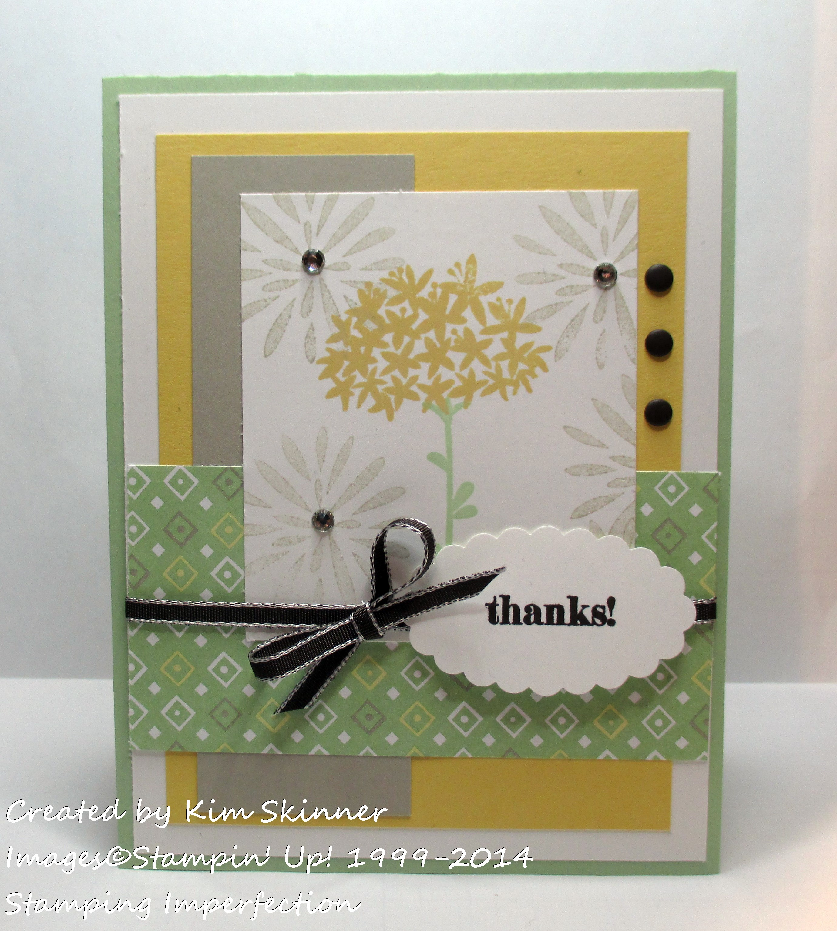 stamping imperfection clean and simple