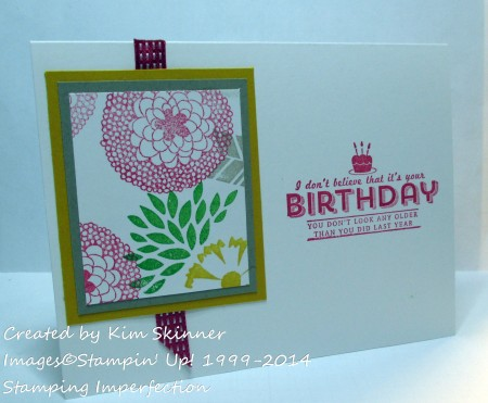 stamping imperfection one sheet wonder