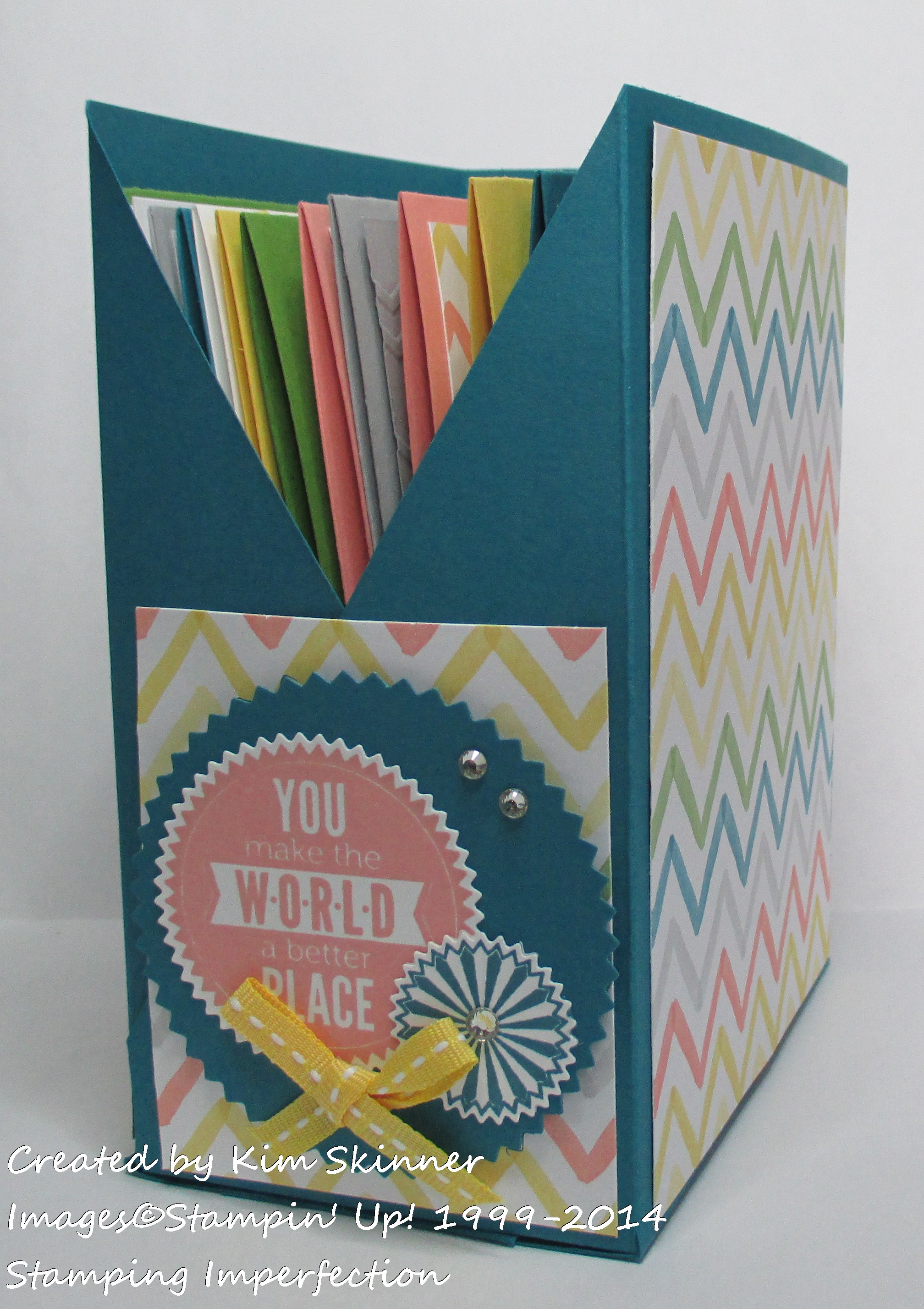 stamping imperfection create a free card file box free tutorial and video