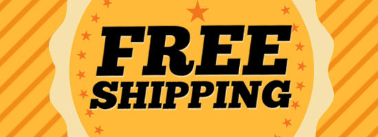 FREE SHIPPING ON EVERYTHING!!