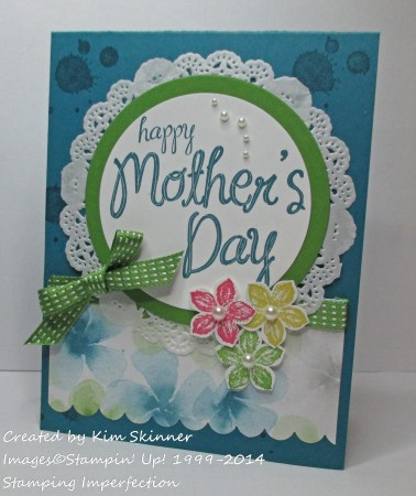 stamping imperfection mother's day
