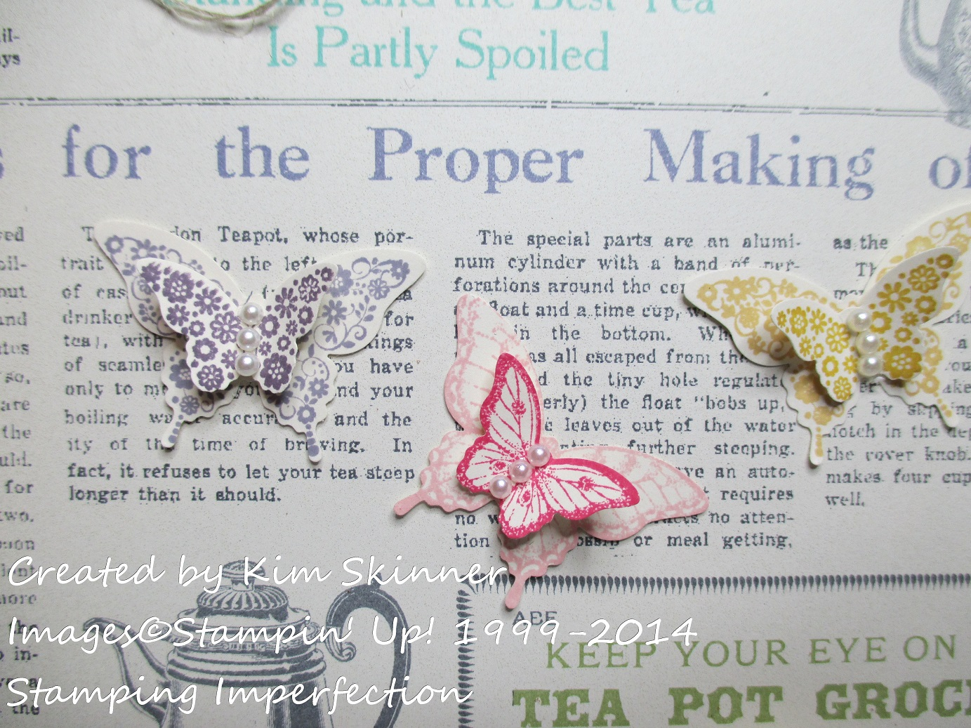 stamping imperfection papillon potpourri