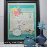 stamping imperfection tea frame
