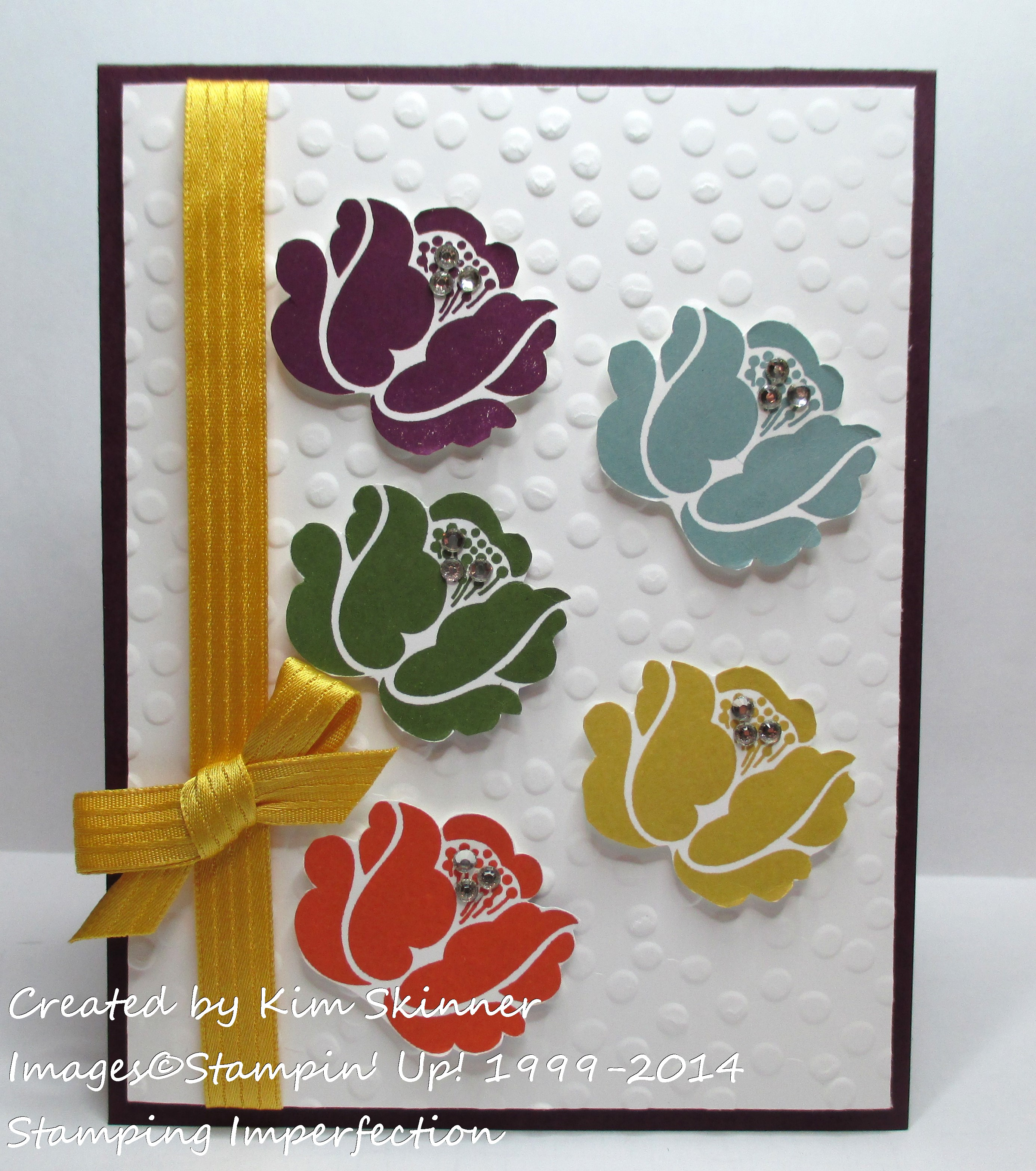 Stamping Imperfection In Colors 2014-2016