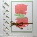 stamping imperfection braided card + template