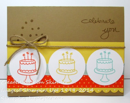 stamping imperfection endless birthday wishes