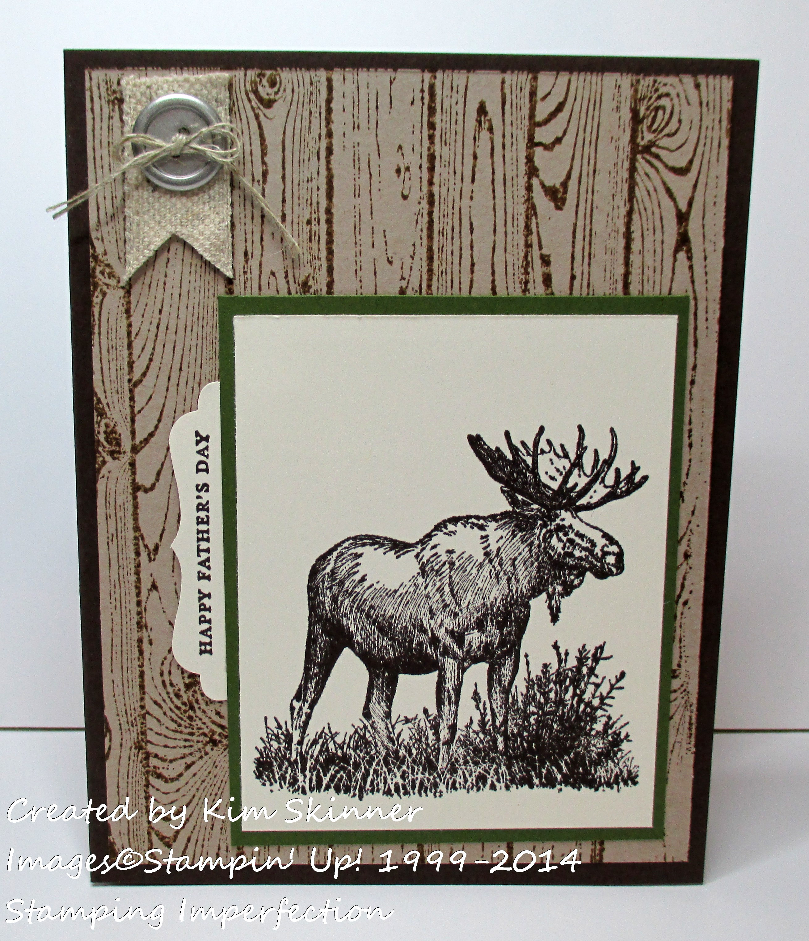 stamping imperfection fabulous father's day card