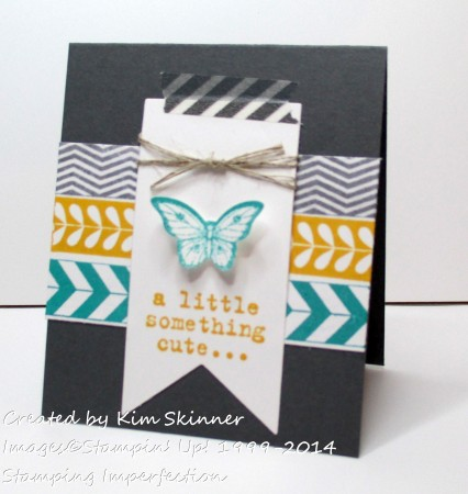 stamping imperfection have you cased a card lately