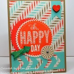 stamping imperfection retro fresh meets happy day