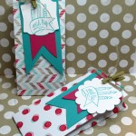 stamping imperfection how to make a gusseted gift bag