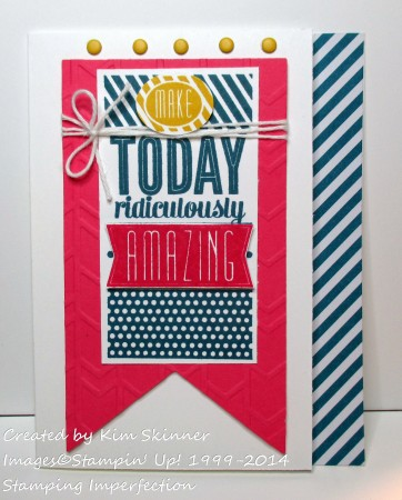 stamping imperfection make today amazing