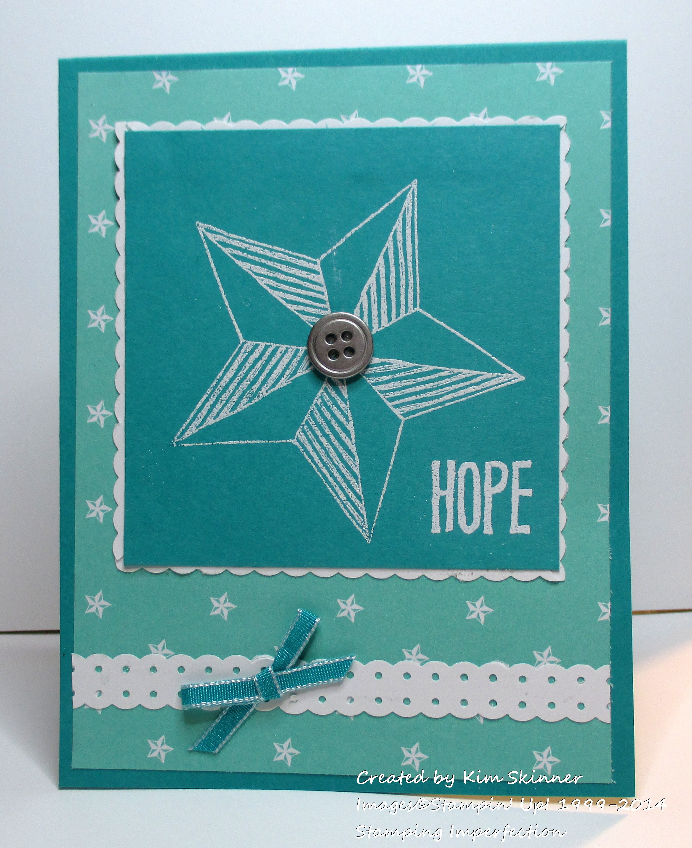 Stamping Imperfection Dotted Scallop Border Punch Ideas