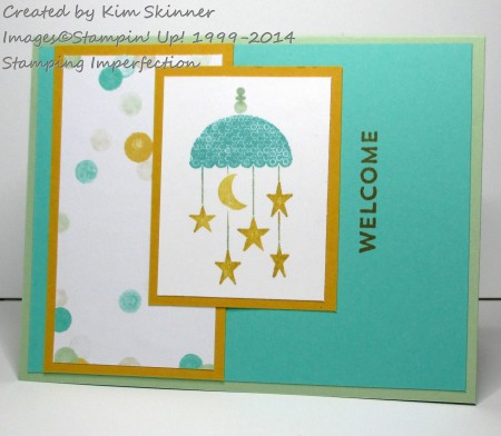 Stamping Imperfection Celebrate Baby