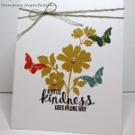 Stamping Imperfection Single Layer Card