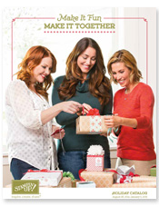 Stamping Imperfection holiday catalog