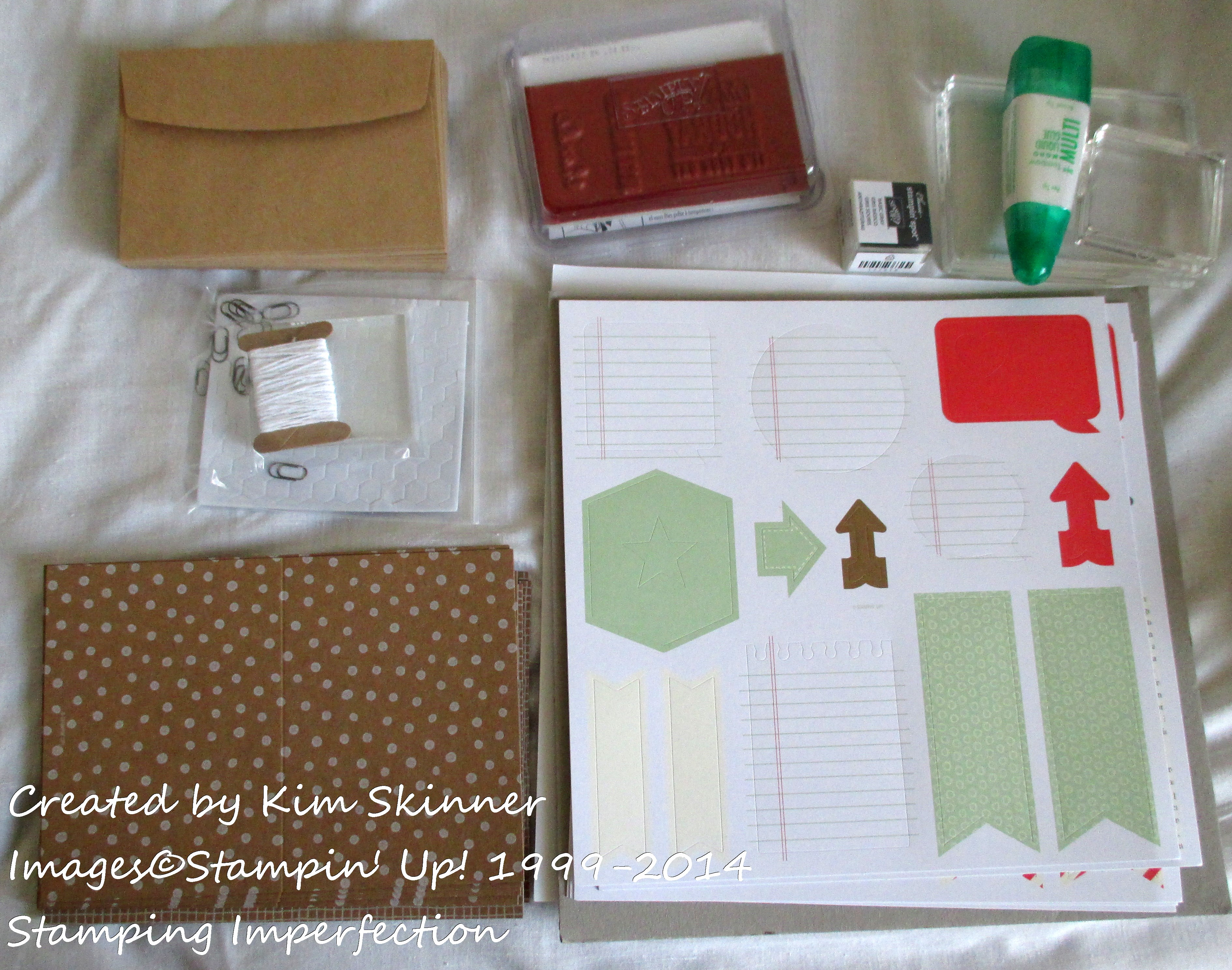 stamping imperfection hip hip hooray card kit + sketch challenge