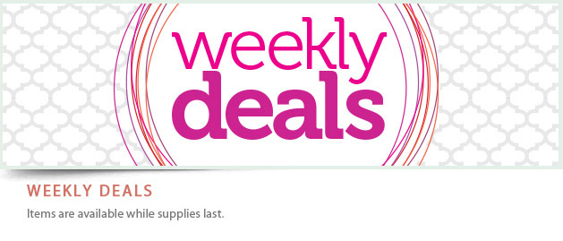 Save 25% With The New Weekly Deals!