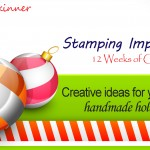 Stamping Imperfection 12 Weeks of Christmas