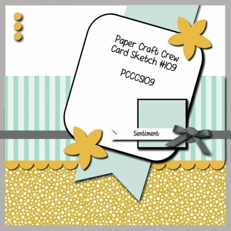Stamping Imperfection Paper Craft Crew Sketch 109