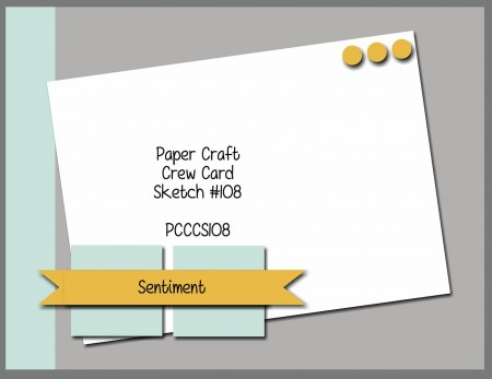 Stamping Imperfection Paper Craft Crew sketch 108