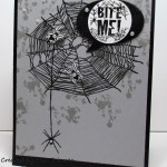 Stamping Imperfection Bite Me Card