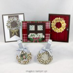 Stamping Imperfection Wonderful Wreath Class